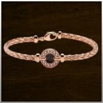 Sieraad nr. BL003 Zilver rosé verguld €249,-