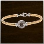 Sieraad nr. BL005 Zilver geel verguld €225,-