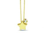 Sieraad nr. 702 + 707 Y Goud / Diamant €568