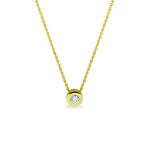 Sieraad nr. 705 goud 0.03 diamant €399,-