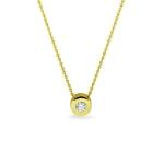 Sieraad nr. 706 goud 0.05 diamant €499,-