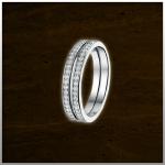 Sieraad nr. RG027 Aanschuifring Zilver €49,- (prijs is per stuk. Afbeelding is 2 stuks)