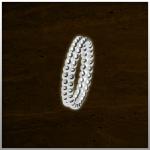Sieraad nr. RG029 Aanschuifring Zilver €49,- (prijs is per stuk. Afbeelding is 2 stuks)