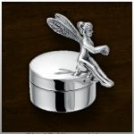 Zilveren mini urn Fairy / nr. 501 SF 19mm breed €125,-