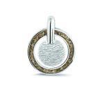 Sieraad nr. 401SA Zilver Vingerafdruk hanger €225,-