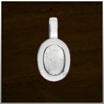 Sieraad nr. 402 S Zilver vingerafdruk €225,-
