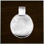 Sieraad nr. 401 S Zilver vingerafdruk €135,-
