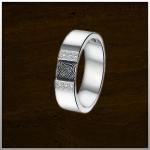 Sieraad nr. 409 S Stalen ring met zirconia €249,-